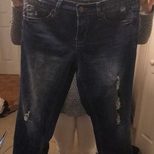 New Directions Size 8 girlfriend jeans